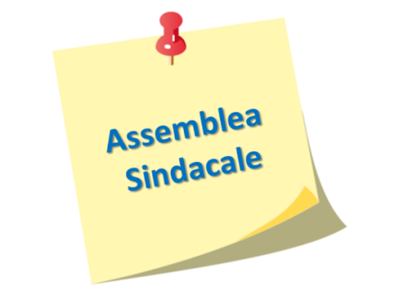 Circolare: assemblea sindacale personale scolas...